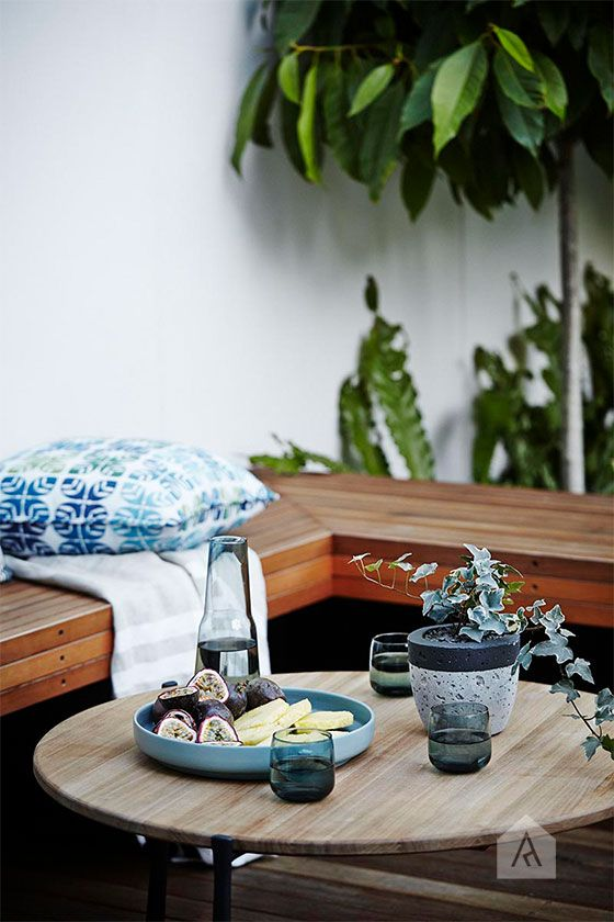 Bondi landscape design styling project. Photography by Natalie Hunfalvay. Design & Construction by Smart Landscaping Solutions. Styling by Adam Robinson Design