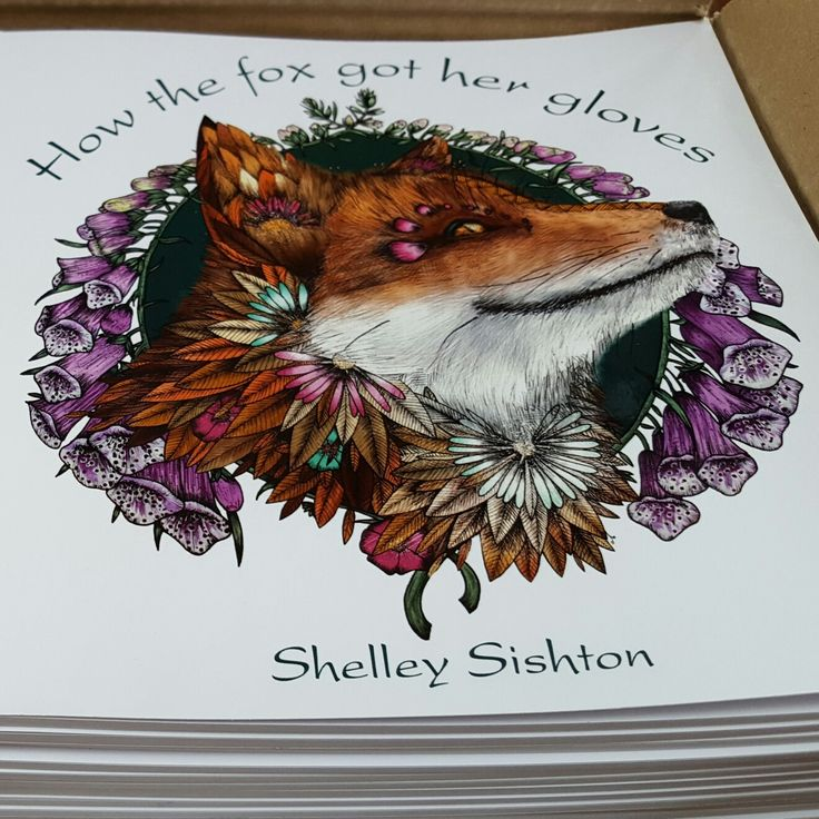 My first book is called How the fox got her gloves. A magical adventure in the wisdom of nature. For all ages. My youngest fan is 3, oldest is 94 (to date!) 🐾💗