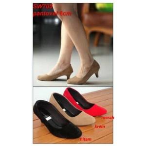 #Sepatu Heels Namira Polos - AyeshaShop.Com