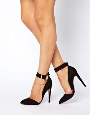 Bild 4 von ASOS – PHOTOSHOOT – Spitze Schuhe mit hohem Absatz