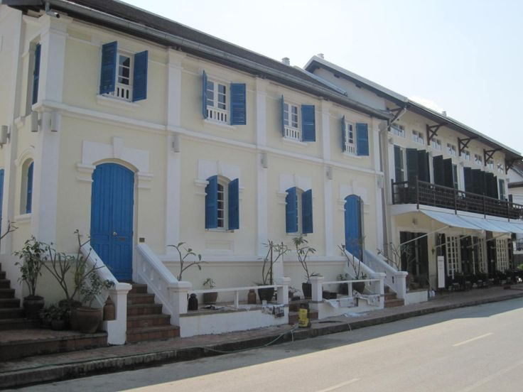 French Colonial Architecture (Luang Prabang, Laos)