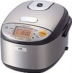 Zojirushi NP-GBC05-XT Induction Heating System Rice Cooker $187.44 #LavaHot http://www.lavahotdeals.com/us/cheap/zojirushi-np-gbc05-xt-induction-heating-system-rice/160754?utm_source=pinterest&utm_medium=rss&utm_campaign=at_lavahotdealsus