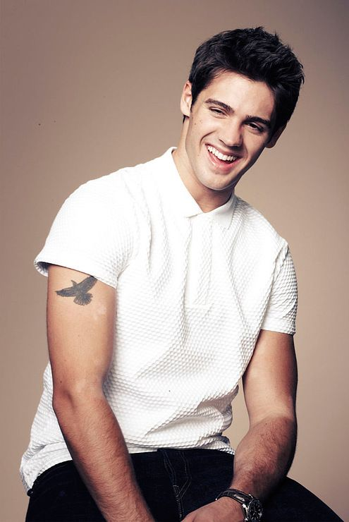 Steven R. McQueen (grandson of Steve McQueen)...i love it when old hollywood hotties have grandsons for me to admire...its less creepy that way.