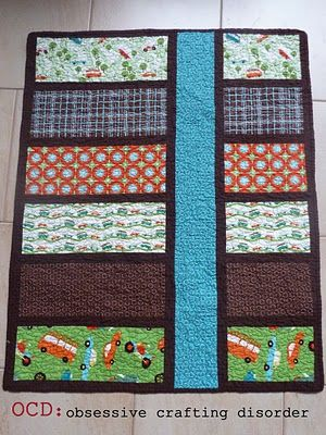 ocd: obsessive crafting disorder: The twins are here....and so are their quilts!