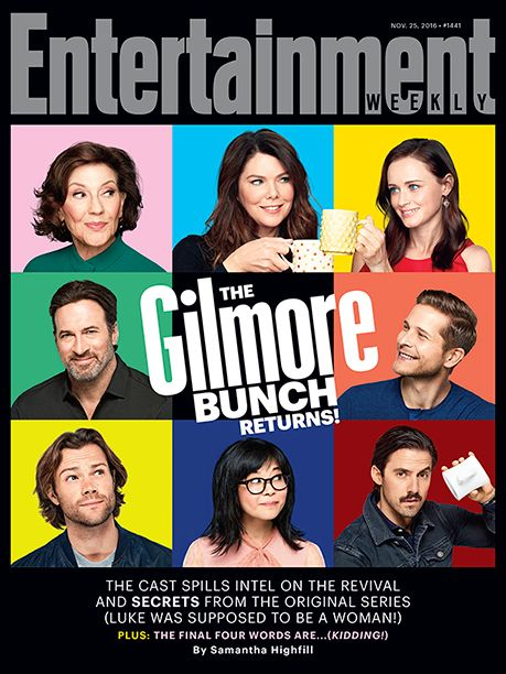 'Gilmore Girls': 5 Exclusive Photos From the Netflix Revival | 'Gilmore Girls' on the Cover of 'EW' | EW.com