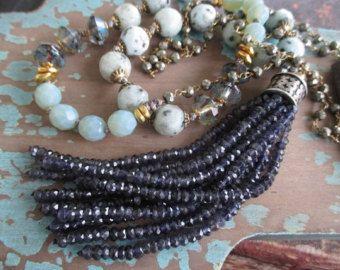Vintage Sterling Silber Kreuz häkeln Halskette von slashKnots