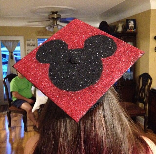 My Graduation Cap  Mickey Mouse inspired Disney freak It all started with a mouse