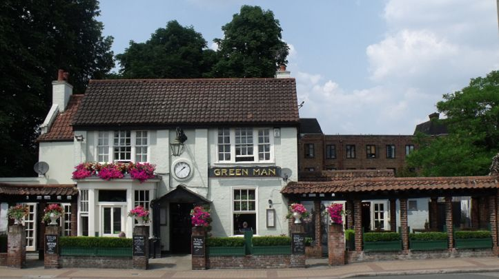 The Green Man - Putney Heath is a popular place for walkers and The Green Man is a great place to go to quench your thirst! There are two bars which offer bar food and a range of Young's beer.