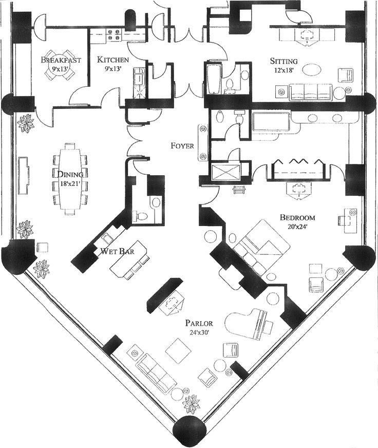 20 best Hotel Plans images on Pinterest | Floor plans, Hotel suites ...