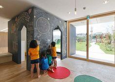 Nurseries and kindergartens on Pinterest