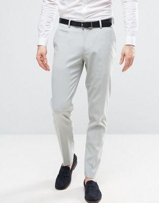 Светло-голубые брюки скинни ASOS