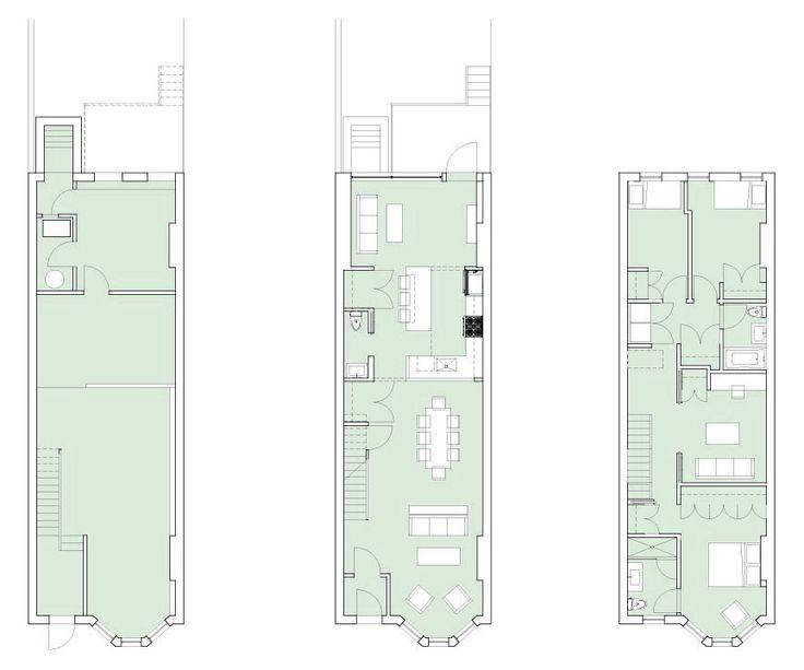 Park Slope Rowhouse Renovation Barker Freeman Design