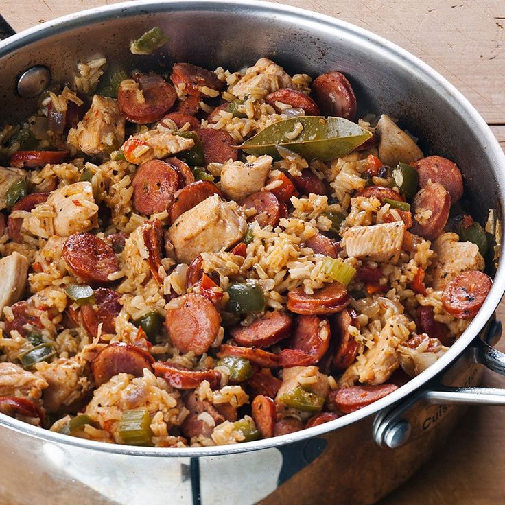 Cajun Seasoning And Andouille Sausage Bring The Flavors Of The Louisiana Bayou Country To This
