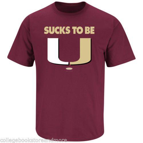 Florida State Sucks to Be You Shirt Smack Apparel Sucks to Be U Florida Shirt | eBay