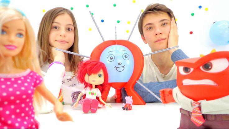 Барби, свинка Пеппа и Шарлотта Земляничка. Веселая вечеринка с подружкой...