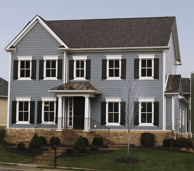 Boothbay Blue Siding James Hardie S Boothbay Blue With