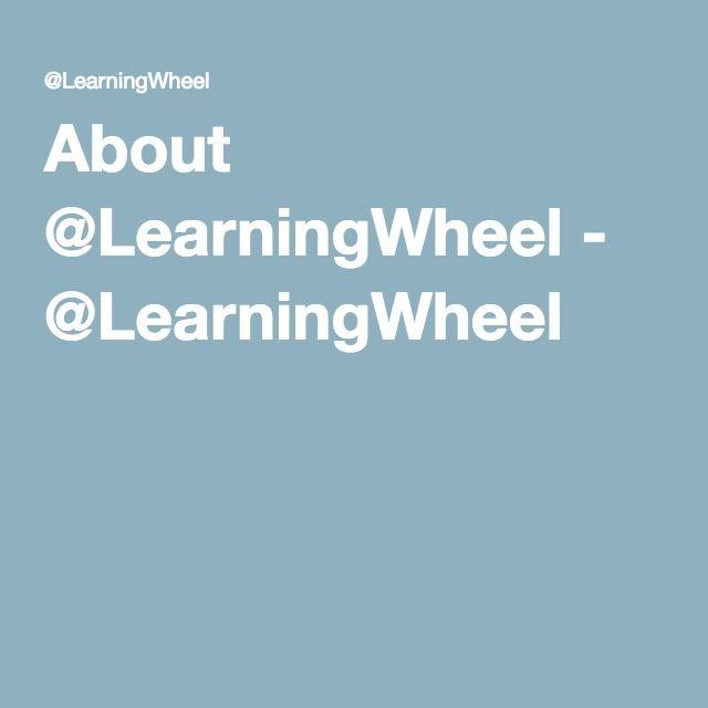 About @LearningWheel - @LearningWheel