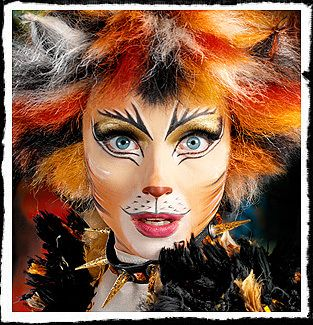 Demeter cats the musical - Google Search - I recreated this makeup so many times as a teenager.