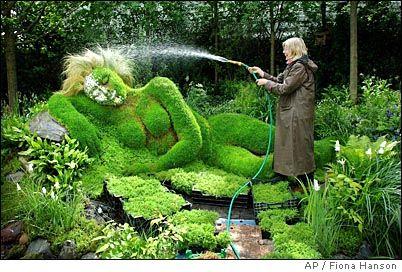Lady shrub: Gardensand Things, Evergreen Shrubs, Amazing Yard, Amazing Art, Gifts Cards, Ladies Shrubs, Too Funny, Gardens Art, Weights Loss