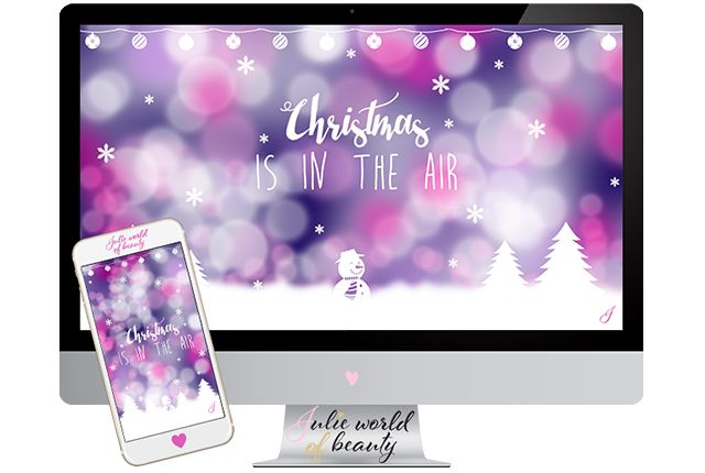 Christmas is in the Air | Julie world of beauty