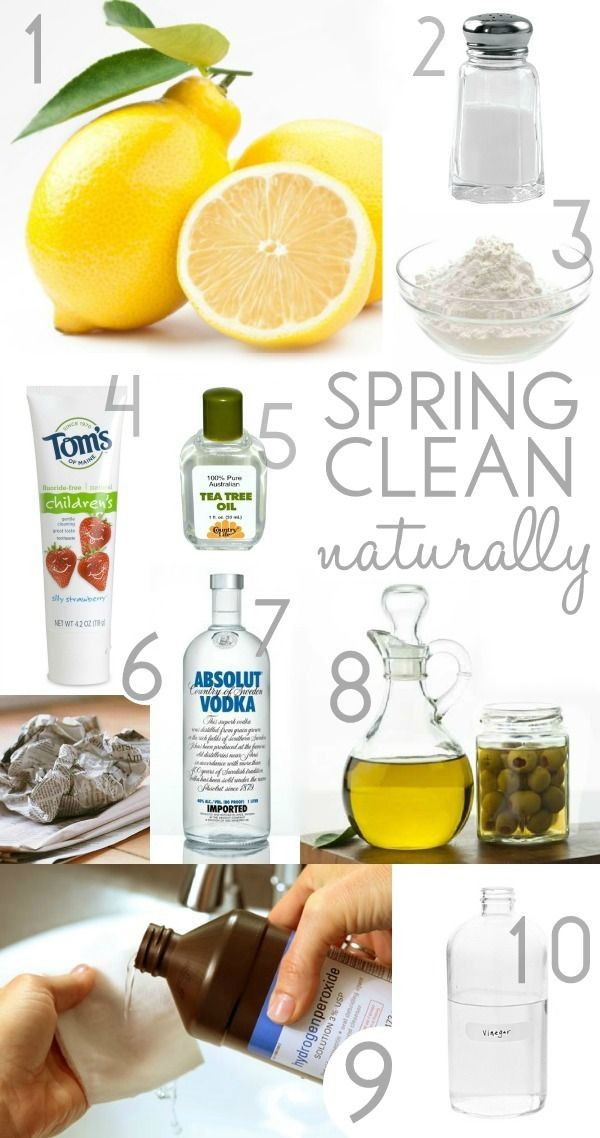 10 Ways to Naturally Clean your Dorm Room. #Cleaning #College #Dorms