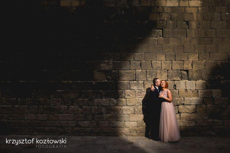 wedding session in Barcelona by krzysztof kozłowski fotografia