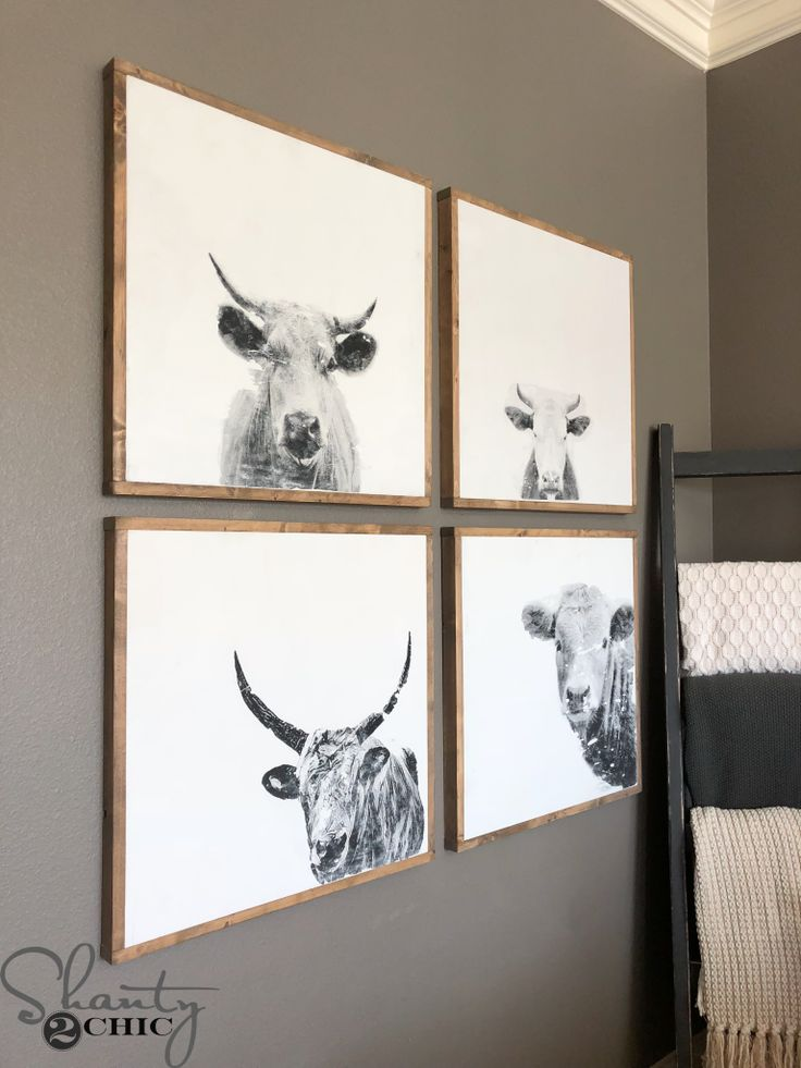 Hey there! Join us on Instagram and Pinterest to keep up with our most recent projects and sneak peeks! Check out our new how-to videos on YouTube! Make sure to subscribe to our channel so you don't miss any! We LOVE these DIY Cow Prints! Each print is 24″ wide, only costs about $12 and …