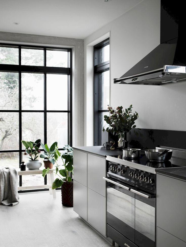 80+ Spectacular Scandinavian Kitchen Ideas #kitchenideas #smallkitchenideas #kitchencabinet