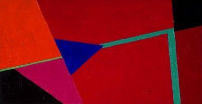 Rojo, azul y turquesa - Inés Bancalari, Cecilia De Torres Ltd.