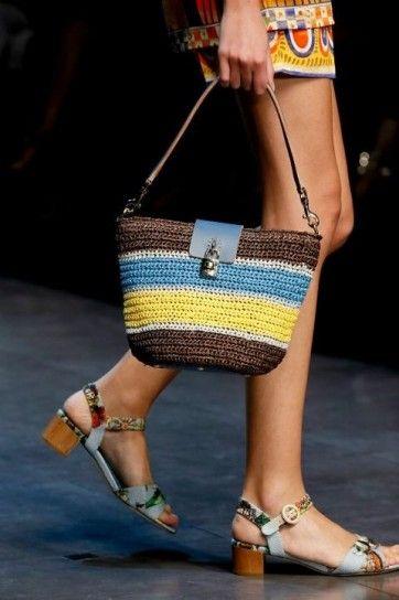 Dolce & Gabbana, borse dalla sfilata primavera estate 2013