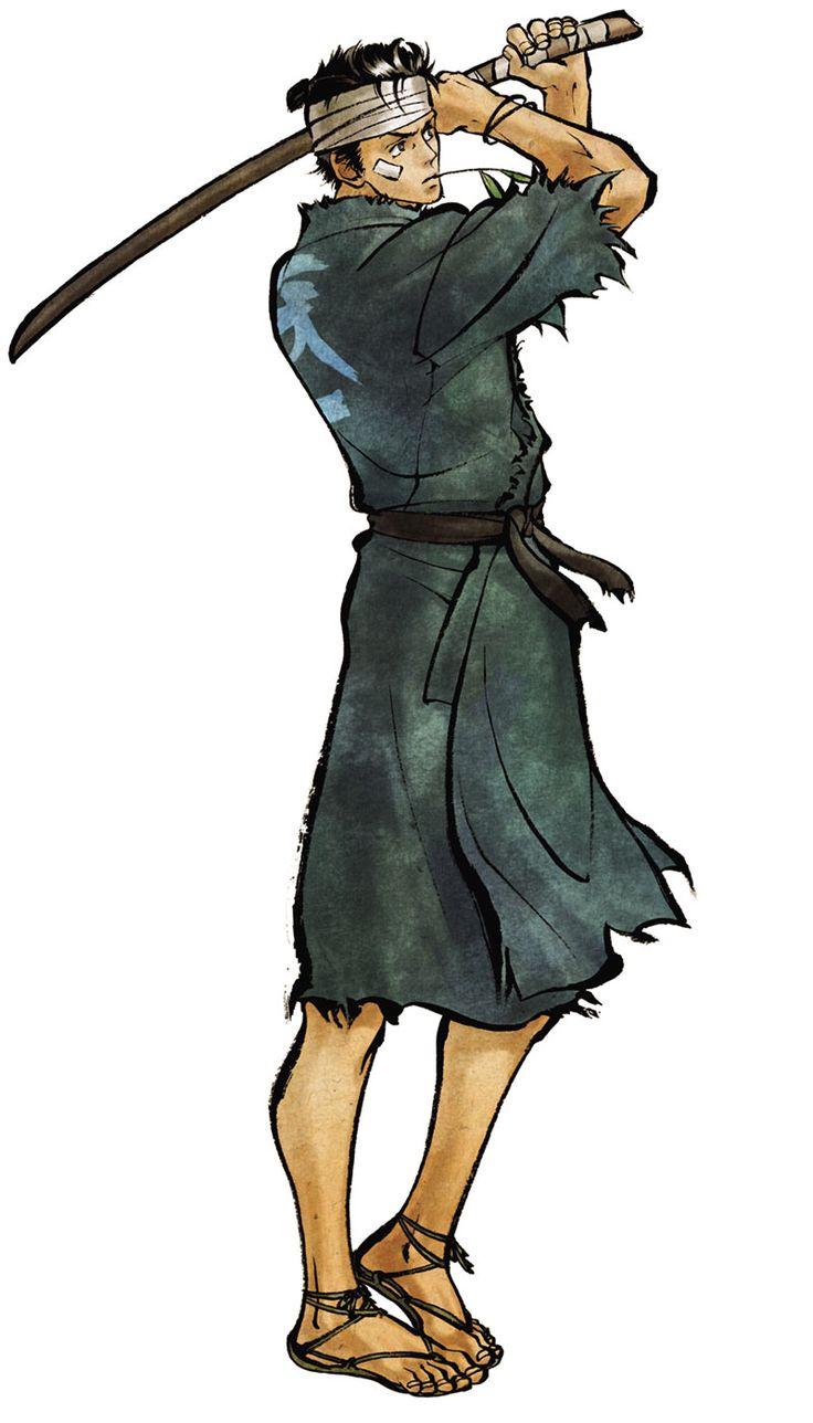 Samurai 7 Anime Characters : Takechiyo characters art samurai shodown sen