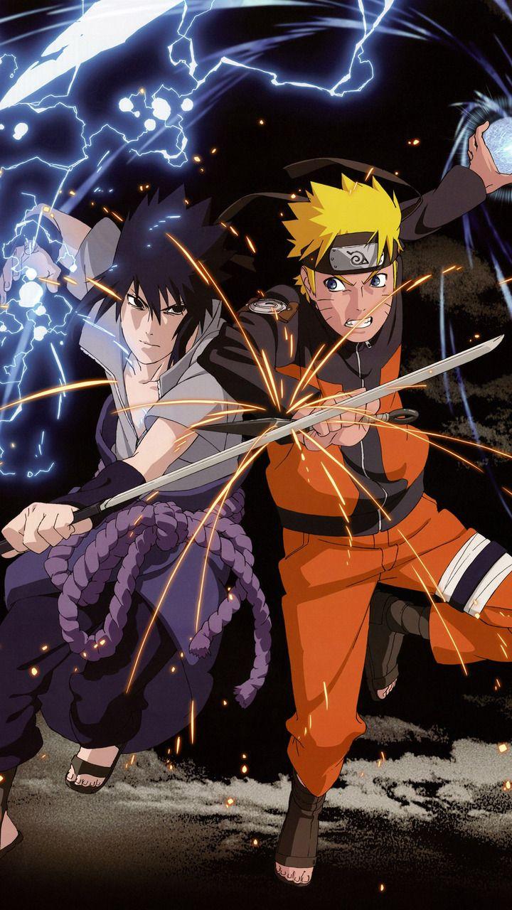 Uchiha Sasuke and Naruto Uzumaki Screensaver Naruto