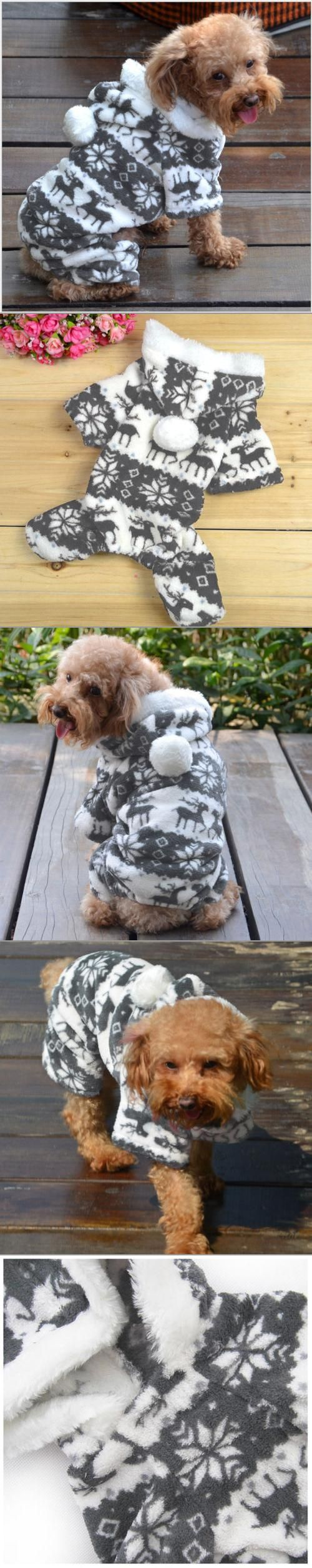 Keep your pets warm this winter with a new fleece jacket!