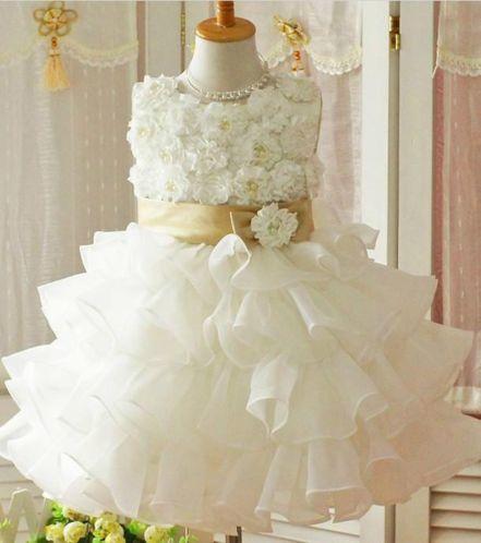 Prinses Feest-Communie jurk Wit/Roze Tule/Tutu/Petiskirt 86-92-98-104-110-116-122 | Betaalbare Merkkleding