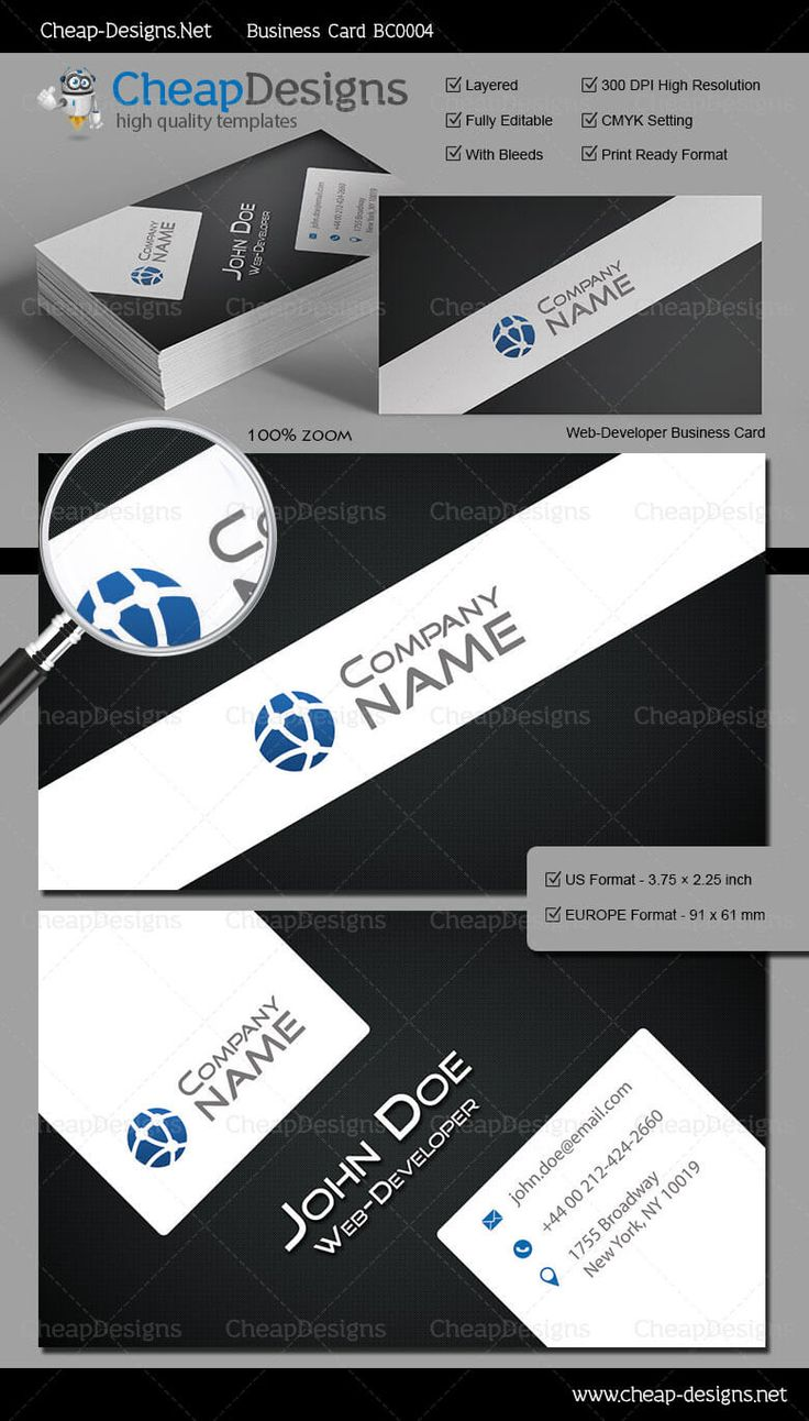 20 best great business card templates images on pinterest web developer business card template choose this template from our library then purchase magicingreecefo Choice Image