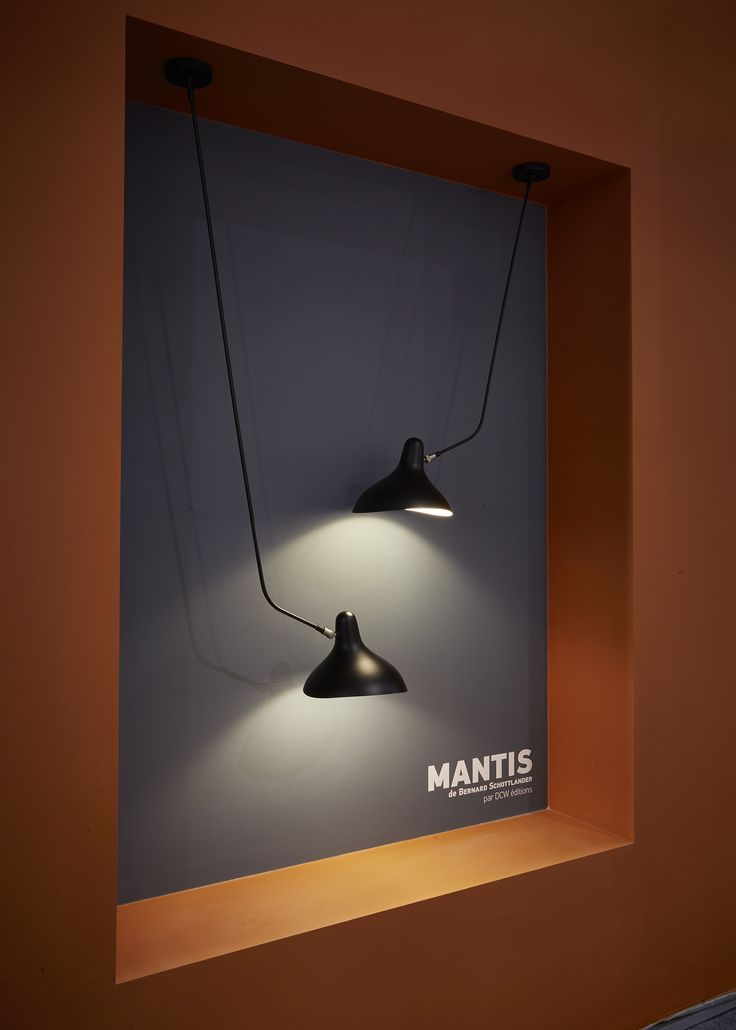 Mantis BS4 and BS4 L presented at Maison & Objet Paris, January 2016  |  DCW éditions booth