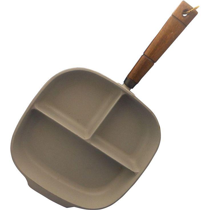 Nordic Ware Tri Pan Divided Cast Aluminum Three