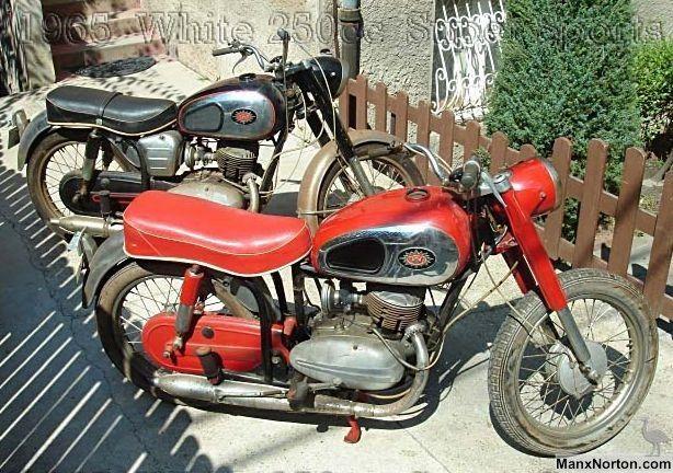 White Super Sports 250cc 1965