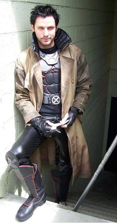 Awesome Gambit cosplay This is just epic win!