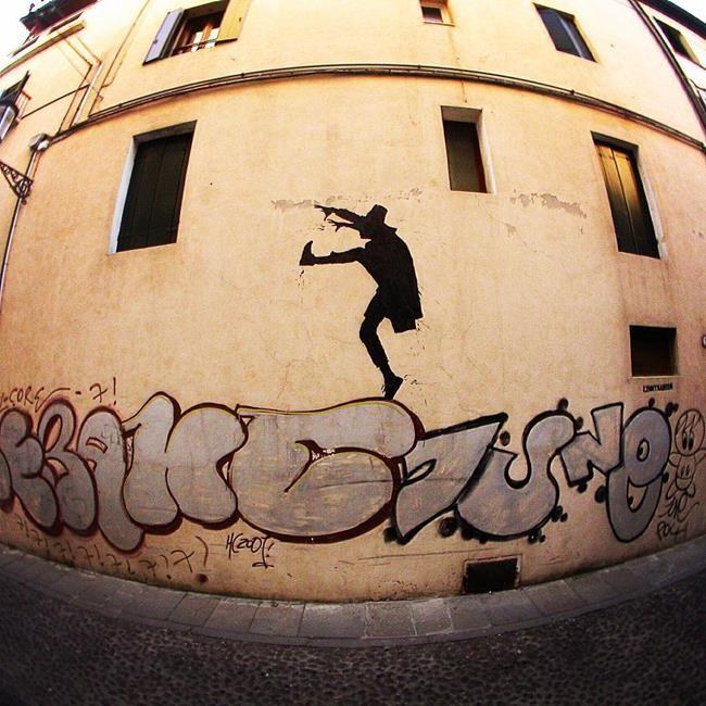 Sokakların Yeni Banksy'si Kenny Random'dan Etkileyici Sokak Sanatı Eserleri Sanatlı Bi Blog 18