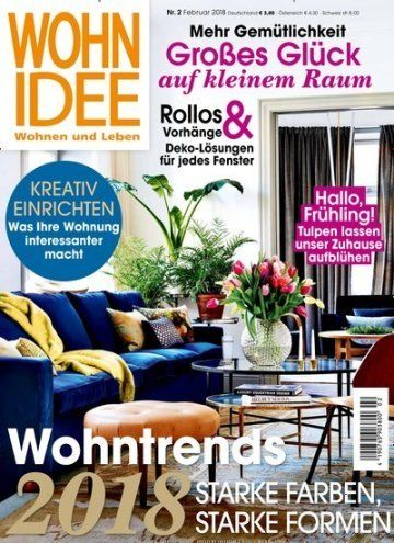 Wohn #Trends2018   Starke Farben, Starke Formen Jetzt In WohnIdee:  #interiordesign