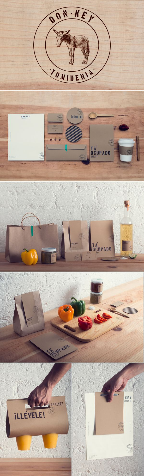 identity / Don Key / traditional Mexican kitchen
