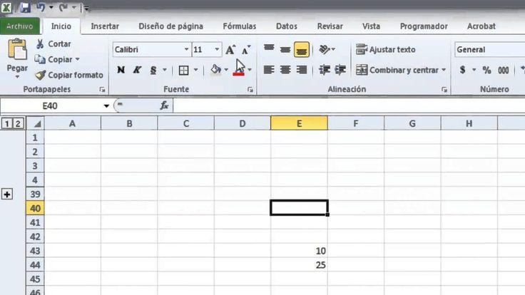 Tutorial Excel #1 - Nivel Básico