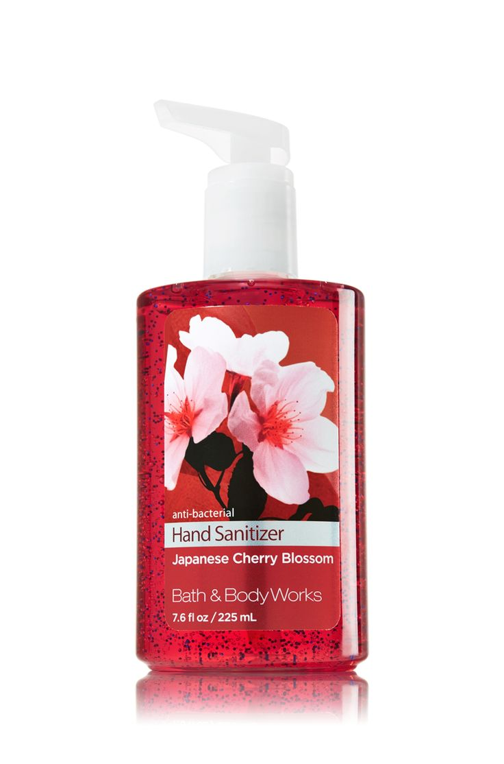 Japanese Cherry Blossom Sanitizing Hand Gel - Soap/Sanitizer - Bath & Body Works