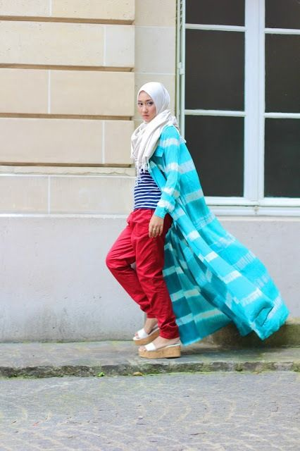 hijab-wearitright:  Dian Pelangi, Indonesian fashion designer.