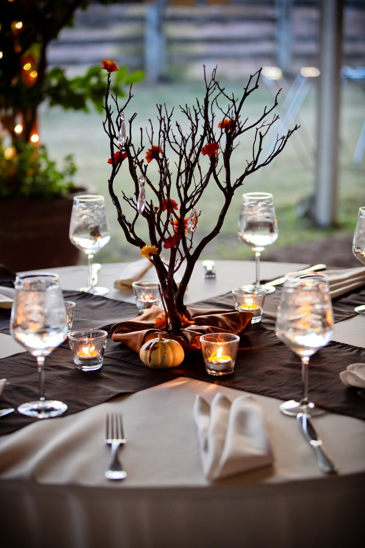 Rustic natural centerpiece