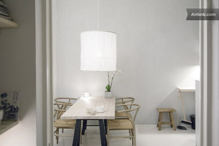 chairs, lamp, light wood