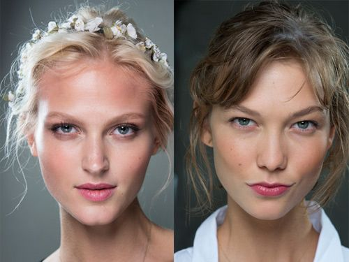 The look: Gorgeous, day-glow golden is the way to look tanned this year. The shows: Models at Dolce