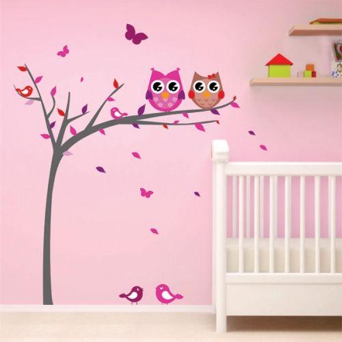 Δέντρο με κουκουβάγιες Νο2 για κορίτσι