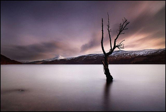 Man, I wish I could just walk around and take pictures like this all day!  Loch Rannoch, Scotland